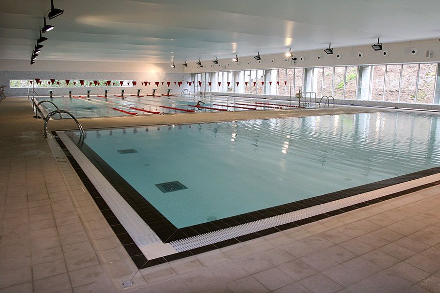 Indoor Swimming Pool Dynamic Panelpool Public Pools